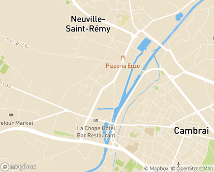 Localisation Korian Georges Morchain - 59554 - Neuville-Saint-Rémy