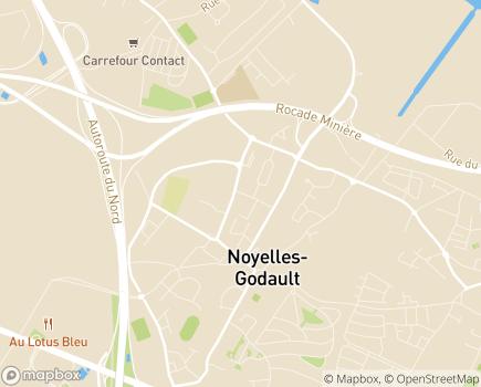 Localisation Résidence Autonomie Charles Vanel (Fondation Partage et Vie) - 59162 - Ostricourt