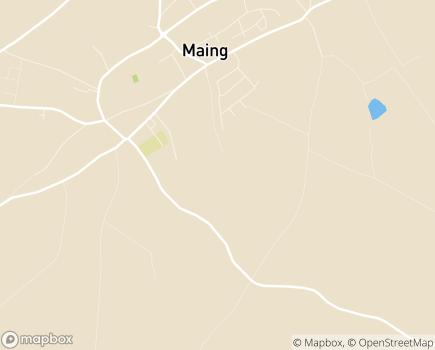 Localisation EHPAD Jeanne de Valois - 59233 - Maing