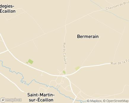Localisation Association Locale ADMR - 59213 - Bermerain