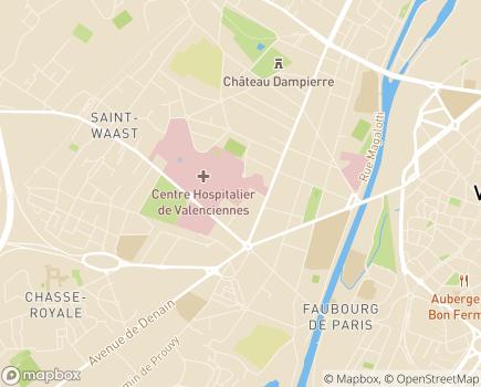 Localisation Hôtel-Dieu - Centre de Gynécologie Obstétrique Maternité Monaco - 59322 - Valenciennes