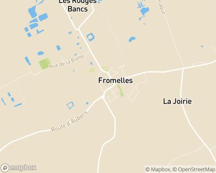Localisation Association Sewep - 59249 - Fromelles