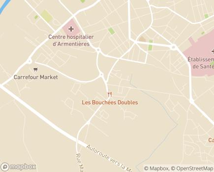 Localisation Association Mandataire d'Aide à Domicile - 59930 - La Chapelle-d'Armentières