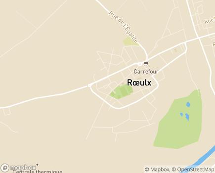 Localisation Association Denis Lemette - 59172 - Roeulx
