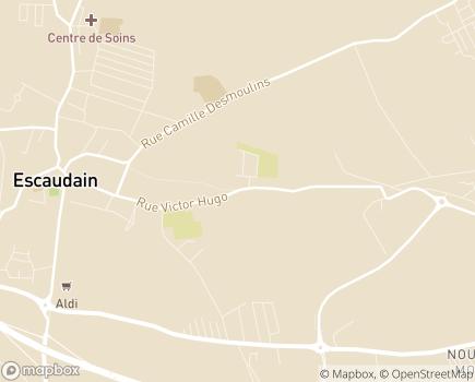 Localisation Association Bien Etre et Santé - 59124 - Escaudain