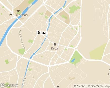 Localisation EHPAD Résidence Marceline Desbordes Valmore - 59500 - Douai