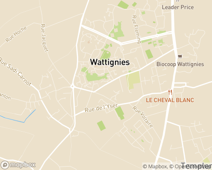 Localisation Résidence du Village - 59139 - Wattignies