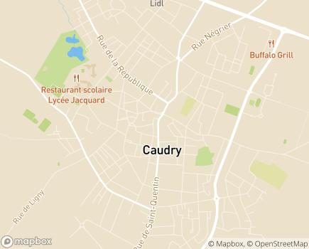 Localisation ADHAP Sambre - Avesnois - Quercitain - Cambrésis - 59540 - Caudry