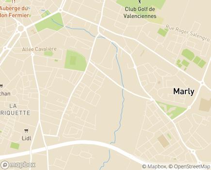 Localisation Colisée - Résidence Vaillant-Couturier - 59770 - Marly