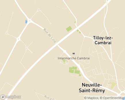 Localisation Résidence Les Edelweiss - Floralys Résidences - 59554 - Neuville-Saint-Rémy