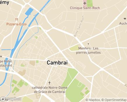 Localisation Domidom Cambrai - 59400 - Cambrai