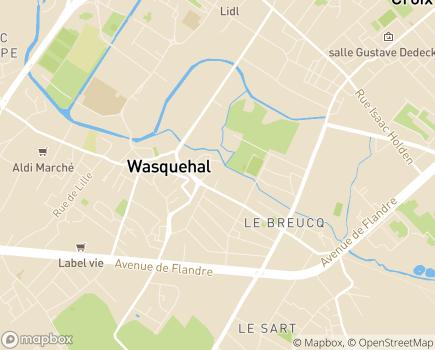 Localisation Domitys L'Hermine Blanche - Résidence avec Services - 59290 - Wasquehal