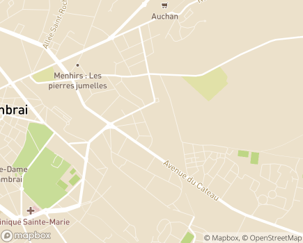 Localisation Domitys Le Parc Saint-Cloud - Résidence avec Services - 59400 - Cambrai