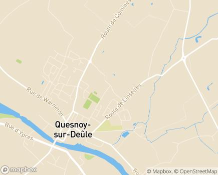 Localisation Résidence d'Appartements Adaptés Les Bleuets LBA - 59890 - Quesnoy-sur-Deûle