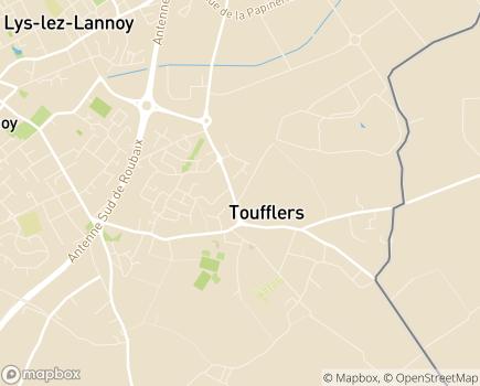 Localisation Résidence d'Appartements Adaptés  Le Clos de la Cense LBA - 59390 - Toufflers