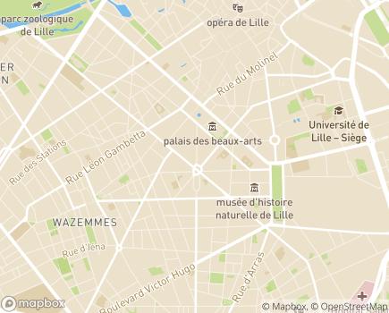 Localisation Louvéa Lille - 59000 - Lille
