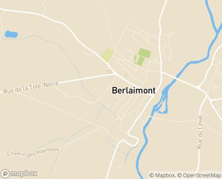 Localisation EHPAD Résidence La Reine des Prés - 59145 - Berlaimont