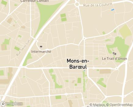 Localisation Les Jardins d'Arcadie Mons-en-Baroeul - 59370 - Mons-en-Baroeul