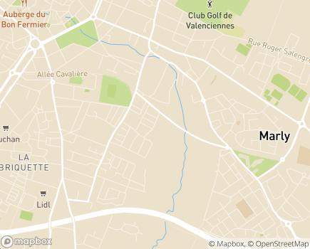 Localisation ONELA Agence de Valenciennes - 59770 - Marly