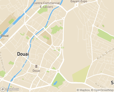 Localisation Générale des Services Douai - 59500 - Douai