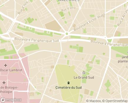 Localisation ALEFPA Atelier Chantier d'Insertion Capharnaüm - 59000 - Lille
