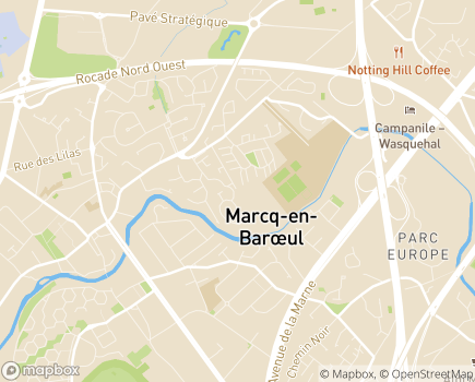 Localisation Domitys L'Olympe - Résidence avec Services - 59700 - Marcq-en-Baroeul