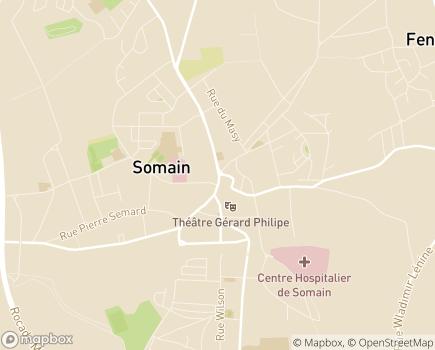 Localisation Aurora APMG - 59490 - Somain