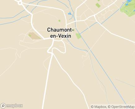 Localisation Centre de Rééducation Fonctionnelle Léopold Bellan - 60240 - Chaumont-en-Vexin