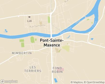 Localisation Centre Hospitalier Georges-Decroze - 60721 - Pont-Sainte-Maxence