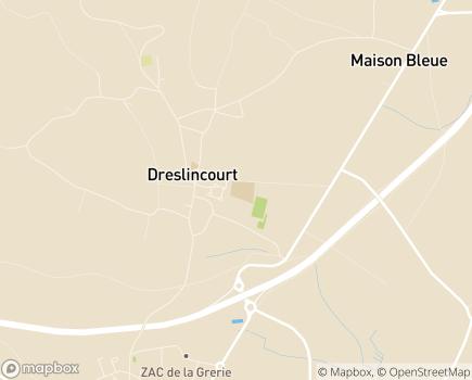 Localisation Institut Médico-Professionnel Public - 60170 - Ribécourt-Dreslincourt