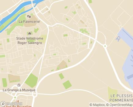 Localisation Pôle de Creil, Cantons de Creil, Montataire, Chambly - 60100 - Creil