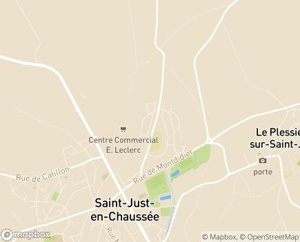 Localisation La Maison des Acacias EHPAD - Adef Résidences - 60130 - Saint-Just-en-Chaussée