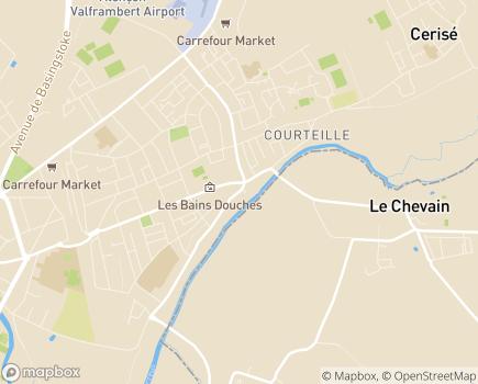 Localisation Pôle Solidarités - 61017 - Alençon