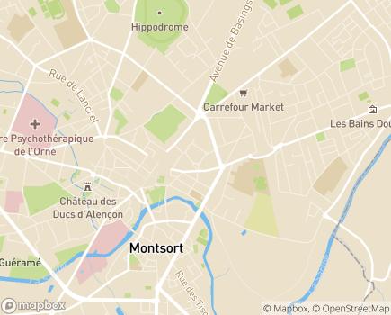Localisation ARS de Normandie Délégation Départementale de l'Orne - 61016 - Alençon