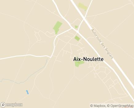 Localisation Résidence Les Pensées d'Automne - 62160 - Aix-Noulette
