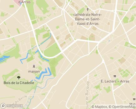 Localisation APEI d'Arras - 62000 - Arras
