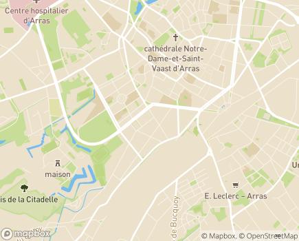 Localisation La Vie Active - 62000 - Arras