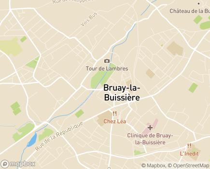 Localisation Clinique Médico-Chirurgicale - 62702 - Bruay-la-Buissière