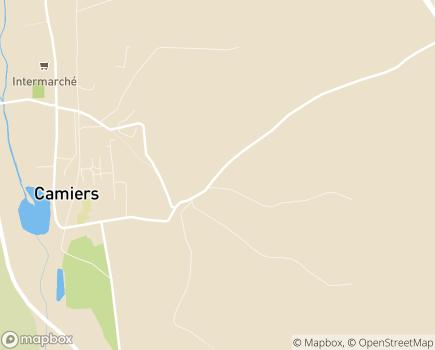 Localisation Institut Départemental Albert Calmette - 62176 - Camiers