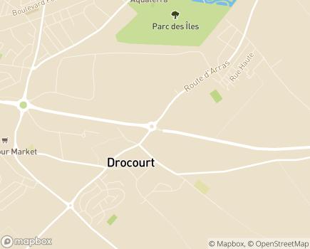 Localisation Centre Communal d'Action Sociale - 62320 - Drocourt