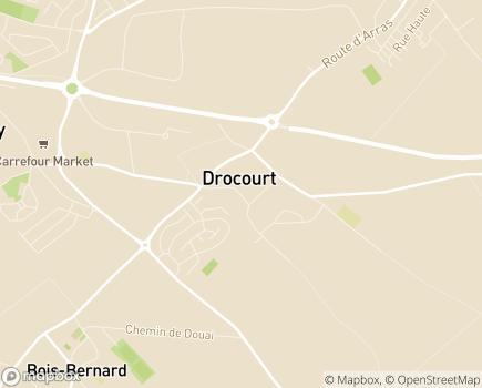 Localisation Résidence Autonomie Les Genêts - 62320 - Drocourt