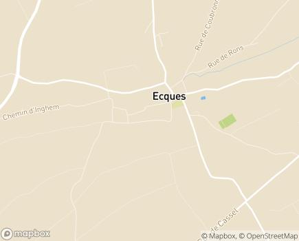 Localisation EHPAD Sainte-Marie - 62129 - Ecques
