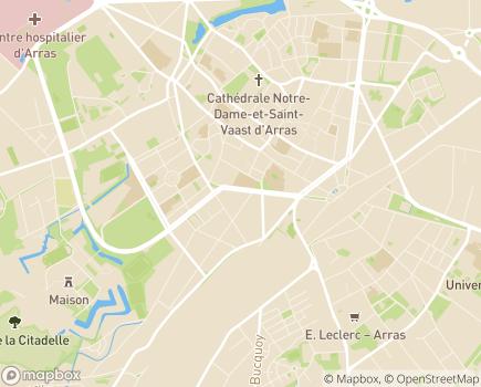 Localisation UDAF 62 - 62000 - Arras