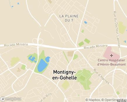 Localisation EHPAD Résidence Les Lys - 62640 - Montigny-en-Gohelle