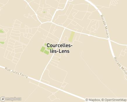 Localisation Colisée - Résidence La Chaumière de la Grande Turelle - 62970 - Courcelles-lès-Lens