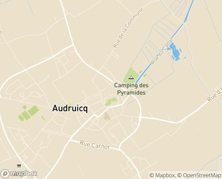 Localisation EHPAD Résidence au Temps des Cerises - 62370 - Audruicq