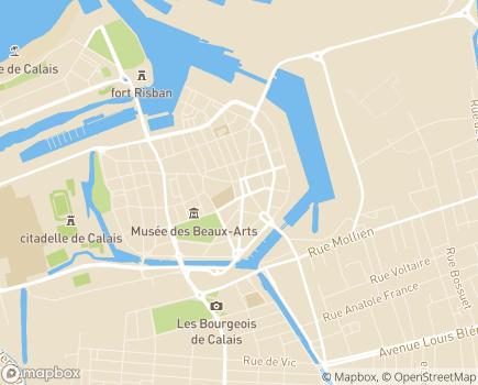 Localisation Emera - EHPAD Maisonnée La Lorraine - 62100 - Calais