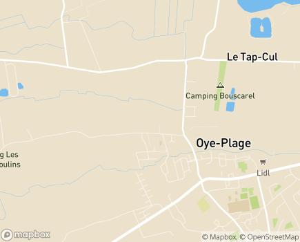 Localisation Colisée - Résidence Le Château du Bois - 62215 - Oye-Plage