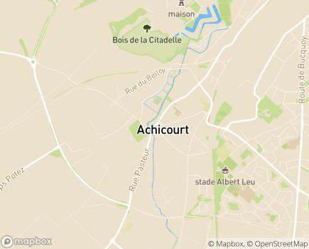 Localisation Capvie Arras - 62217 - Achicourt