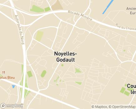 Localisation Proxidom Services 62 - 62950 - Noyelles-Godault